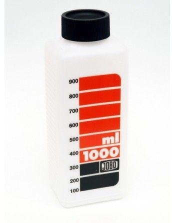 Jobo 3373 butelka na chemię biała 1000 ml