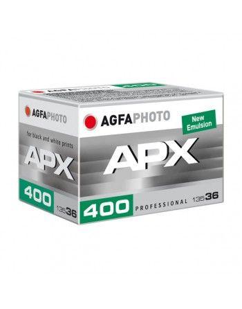 AgfaPhoto APX 400/36  New negatyw B/W typ 135
