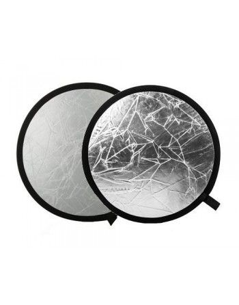 Quantuum Blenda 60 cm biało srebrna