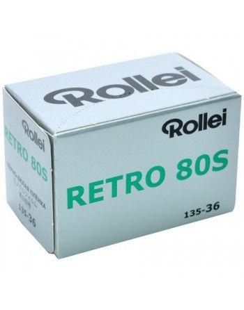 Rollei Film Retro 80s /36 negatyw cz/b typ 135 małoobrazkowy