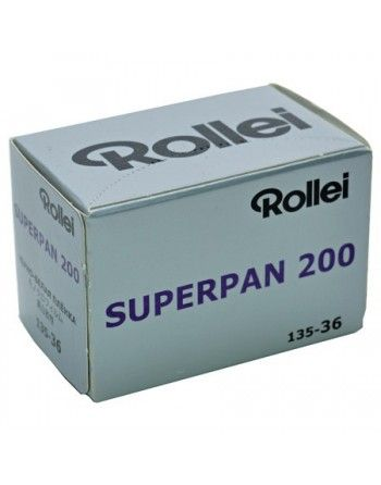 Rollei Superpan 200/36 negatyw cz/b