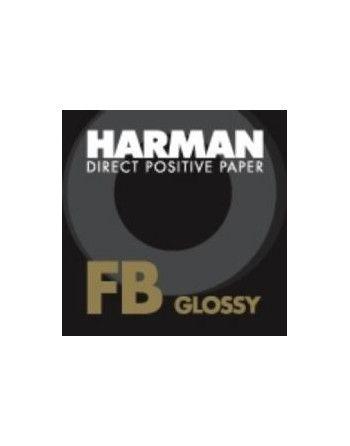 """Harman Direct FB 8x10""""/25 Błysk - barytowy papier czarno-biały wprost pozytywowy"""