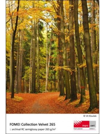 Fomei Colection Velvet 265gsm A4 50 szt papier fotograficzny do druku