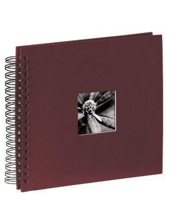 Hama Album fotograficzny FINE ART 36X32/50 bordowy