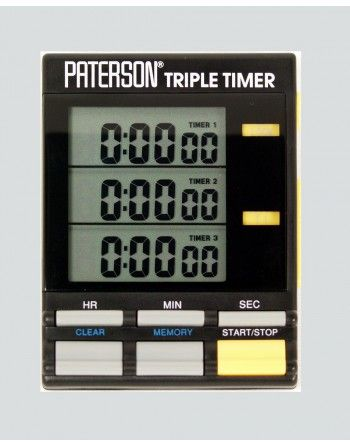 Paterson zegar, minutnik do ciemni 3 zakresy