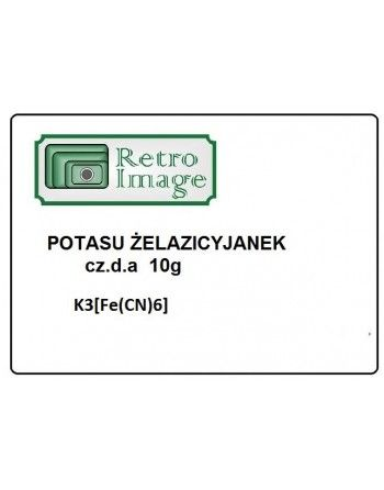 Retro-Image - Żelazicyjanek potasu 10g K3[Fe(CN)6] cz.d.a  Oczynnik do cyjanotypii