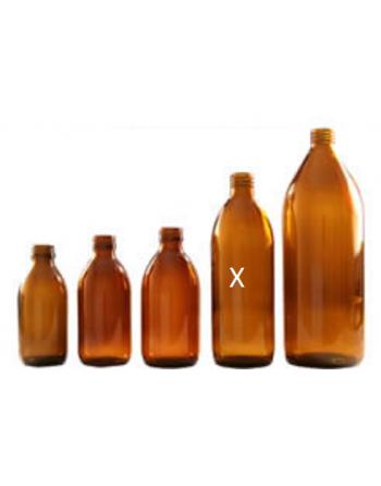 Butelka apteczna 500 ml szkło brązowe