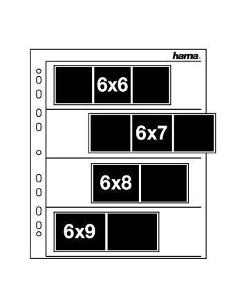 Hama 6x7 50 szt. koszulki pergaminowe
