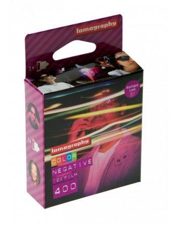Lomography film Color 400 typ 120