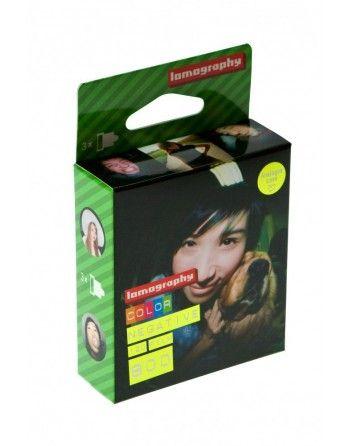 Lomography film color 800 typ 120