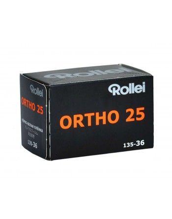 Rollei Film ORTHO 25/36 ISO 25/15° negatw cz/b typ 135