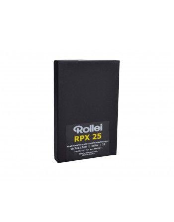 """Rollei Film RPX 25 4x5""""/25 ISO 25 negatyw cz/b"""
