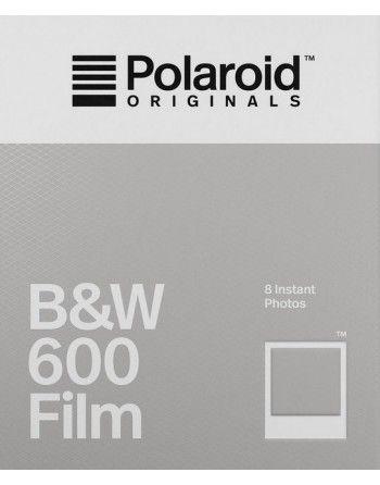 Polaroid Originals 600 B&W czarno-biały wkład do aparatu Polaroid z białymi ramkami