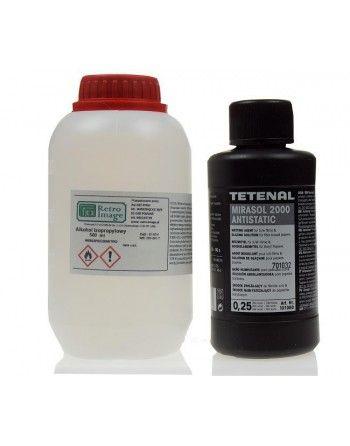 Zestaw alkohol izopropylowy IPA 500 ml + Tetenal Mirasol 250 ml do czyszczenia płyt winylowych