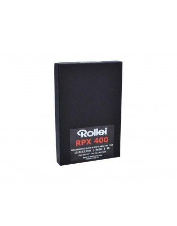 """Rollei Film RPX 400 4x5""""/25  negatyw cz/b cięty"""