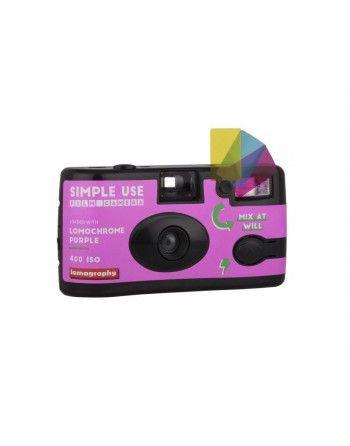 Lomography aparat z filmem Lomo Purple XR 100-400/36