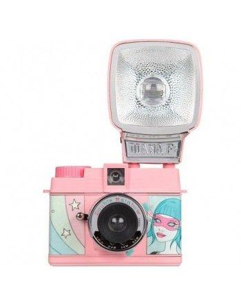 "Lomography Diana Mini ""Double Rainbow"" aparat fotograficzny na film typ 135"