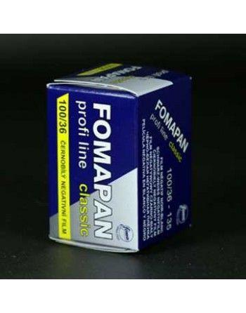 Fomapan 100 Clasic /36 negatyw cz/b