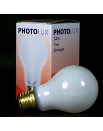 Photolux żarówka mleczna do powiększalnika 75W
