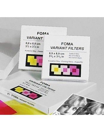 Foma  filtry multigrade 8,9x8,9 cm 6 szt.