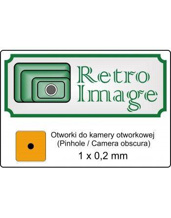 Retro-image otworek 0,2 mm do kamery otworkowej
