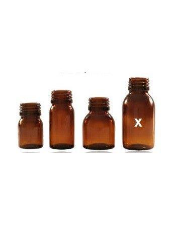 Słoik apteczny 100 ml szkło brązowe