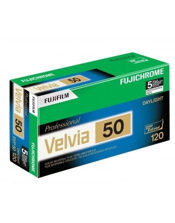 Fujichrome Velvia 50 typ 120 slajd kolorowy